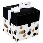 Box, Confetti, pop-up, 10x10x10cm