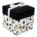 Box, Confetti, pop-up, 15x15x15cm
