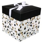 Box, Confetti, pop-up, 20x20x20cm