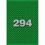 Etiket, papier, Ø8mm, groen