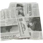 Fourniturenzak, papier, 10x16cm, Le journal