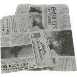 Fourniturenzak, papier, 15x19cm, Le journal