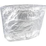 Isolatiezak, LDPE, 71x76cm, transparant