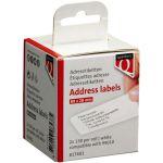 Label, Labeletiket, Papier, 89x28mm, wit