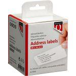 Label, Labeletiket, Papier, 89x36mm, wit