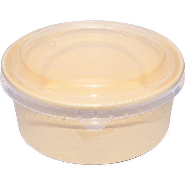 salade bowl bamboepapierpe 750ml 150mm naturel