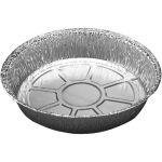 Schaal, aluminium, rond, 800ml, 43mm, Ø185mm