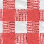 Tafellaken, papier, 50m, rood/wit
